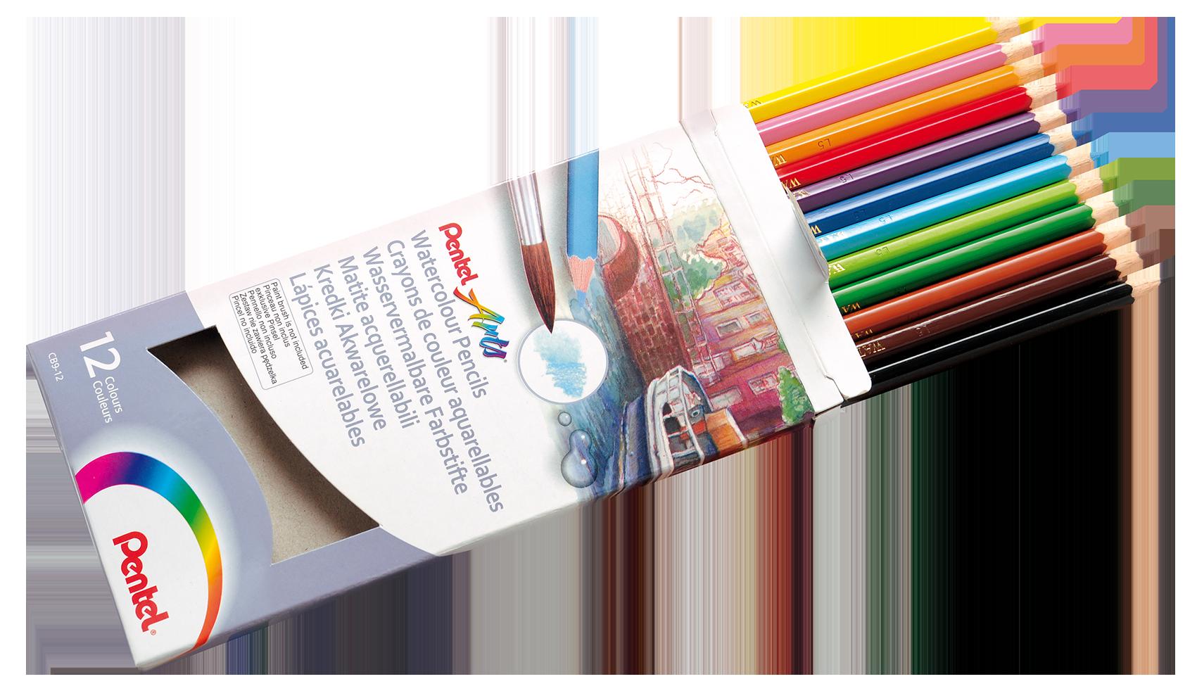 Watercolour Pencils 2