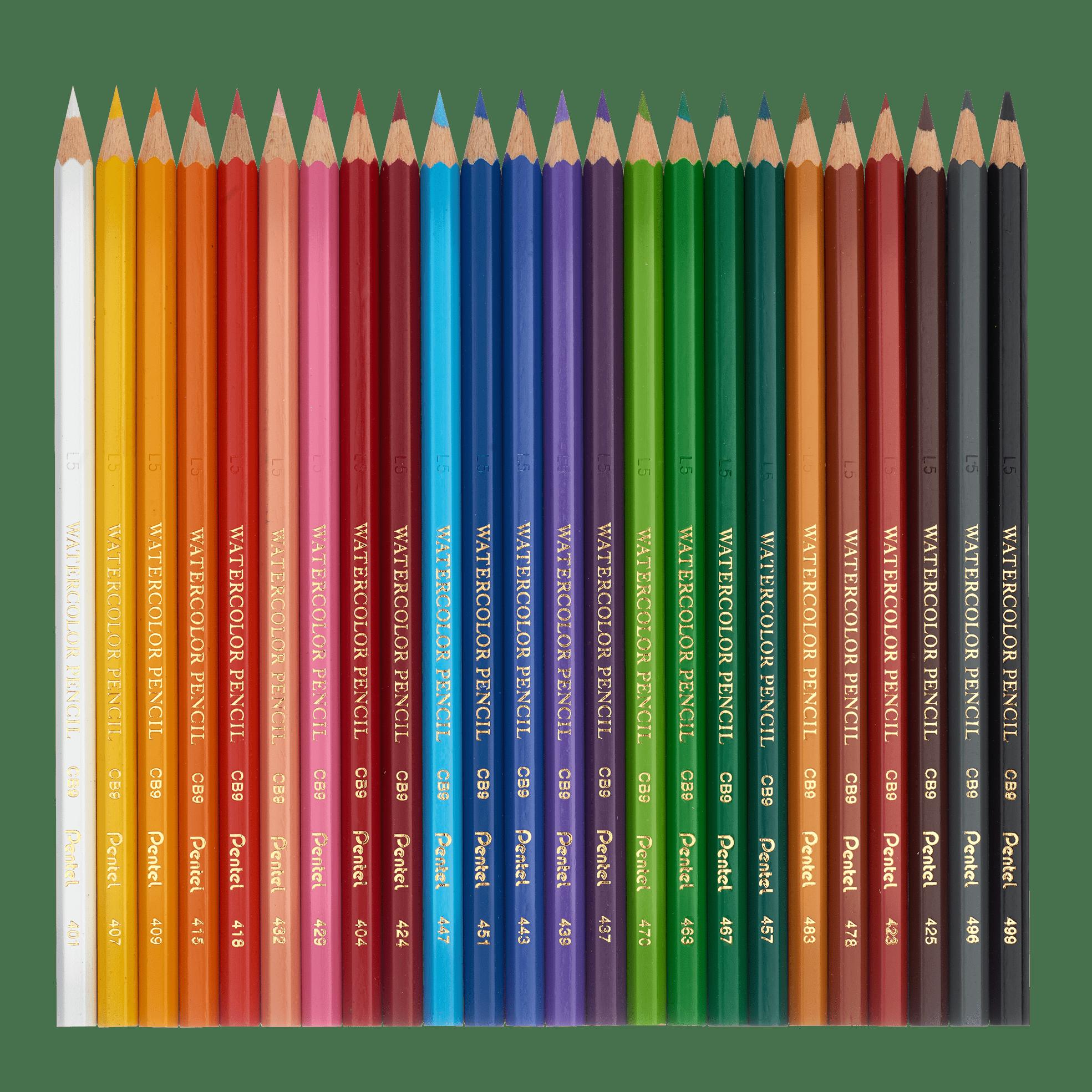 Watercolour Pencils 1